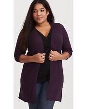 Torrid Purple Open Cardigan 5X 28 #05719