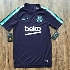 FC Barcelona Fussball Trainingsshirt   Neu   Nike   Dunkellila   Größe S