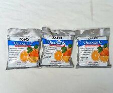 3 packs of Zand Orange C HerbaLozenge Zesty Orange Total 45 Lozenges Exp 10/20