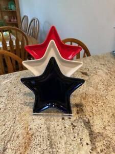 3 STEP RACK FOR FIESTA STAR PLATES   -PLEXIGLASS