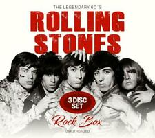 THE ROLLING STONES  Rock Box  3 CD  NEU & OVP  25.10.2019