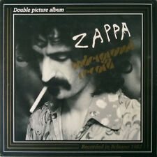 """FRANK ZAPPA """"UNDERGROUND RECORD""""  double lp picture disc limited edition mint"""