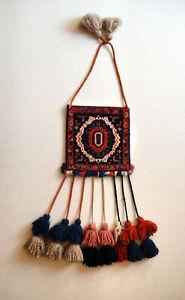Sammlerstück Nomaden Tasche Teppichtasche Khorjin aus Persien Handgeknüpft