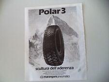 advertising Pubblicità 1984 MARANGONI PNEUMATICI