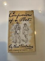 Confessions of a Poet, HC Classic by Paul Verlaine 1950 1st
