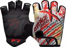 RDX Weight Lifting Gym Training Gloves BodyBuilding Fitness WorkOut Exercise F7R