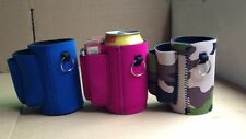 10 BEER KOOZIES- with cigarette and lighter holder (Choose colors) PACK OF 10