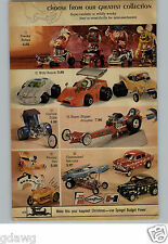 1971 PAPER AD 2 Pg Revell Freaky Riders Wild Bunch Corvair Trike Matell Dragster