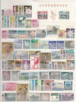 AB4741/ JAPAN – 1960 / 1963 MINT MODERN COLLECTION – CV 300 $