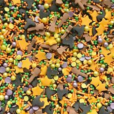Witches Brew Mix 1 Halloween Sprinkles Cake Cupcake Toppers Decorations 50g