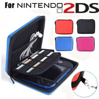 Carry Storage Hard Protective Case Cover For Nintendo 2DS Game With Zip