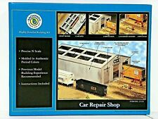"BACHMANN N SCALE U/A ""CAR REPAIR SHOP"" PLASTIC MODEL KIT #15159"