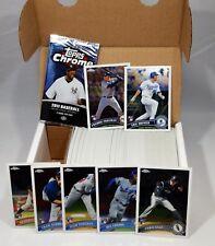 2011 Topps Chrome Baseball Set - 220 Cards - Hosmer Sale Freeman Gordon RCs