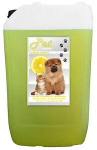 Dog Kennel Disinfectant Cleaner Deodoriser 25L Lemon Fragrance Pet Guard
