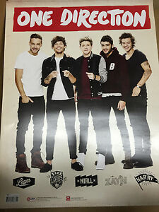 """BRAND NEW: 1D One Direction - 18"""" x 24"""" Heavy Duty Light Cardboard Poster"""