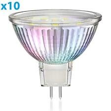 Parlat gu5.3 LED lámpara mr16 1,9w 110lm 110 ° blanco cálido, 10 unid.
