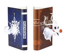 NIB Disney Collection Nightmare Before Christmas Zero Light-Up Bookend Set
