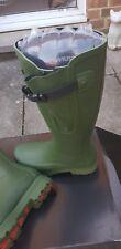 Musto Blenheim Men's Wellington Boots Size UK 8 /  In Box Matt green