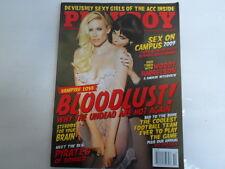 PLAYBOY OCTOBER 2009 VAMPIRE LOVE GIRLS OF ACC LINDSEY GAYLE EVANS (8560-1 412)
