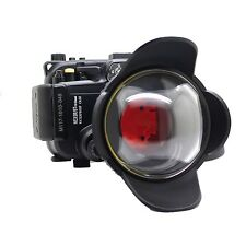 130ft Underwater Housing Case, fisheye wide angle lens for Sony NEX-5R/5T 16-50