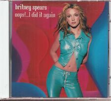 Britney Spears Oops! I DID It Again CD Promo