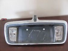 LINCOLN LS REAR LICENCE PLATE W/ LIGHT 2003 2004 2005 2006