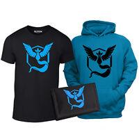 Kids Team Mystic Triple Pack - gamer go anime t shirt hoodie wallet cool gaming