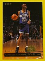 Anfernee Hardaway Rookie Card 1993 Classic Draft Picks Gold (Limited Edition)