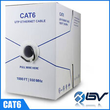 Cat5e Cat6 1000Ft Outdoor Ethernet Network Cable Direct Burial 350Mhz Wholesales