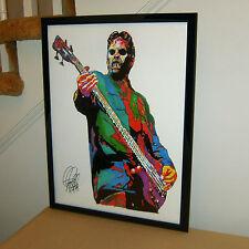 Paul Gray Slipknot Bass Player Metal Rock Music Poster Print Wall Art 18x24