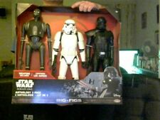 "DISNEY STAR WARS ROGUE ONE 3 18-20"" FIGURES PACK PERFECT BIRTHDAY GIFT"
