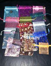 20 bolsas de regalo de organza al azar Mezclado Tamaños Colores Y Modelos Navidad?