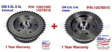 New Intake Camshaft VVT Actuator Phaser Sprocket for Chevy Intake Exhaust Set