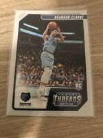 2019-20 Panini Chronicles Threads #97 Brandon Clarke Rookie RC Grizzlies