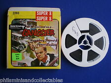 Super 8mm film - Bogart, Cagney in ' How to Succeed as a Gangster  200ft  Silent