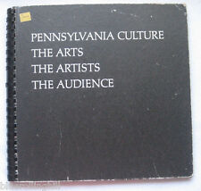 Pennsylvania Culture The Arts Artists Audience 1969