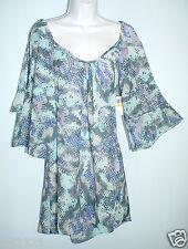 COCO BIANCO Swimwear Sz S Wide Scoop Neck Coverup Dress NWT $52