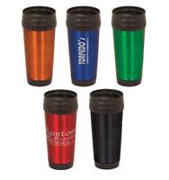 ENGRAVED Stainless Steel Travel Mug PERSONALIZED 5 Colors FREE ENGRAVING