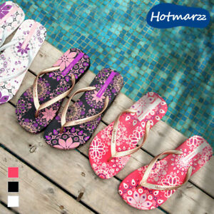 Girl Flip-flop Women Colourful Sandal Lady Slipper Beach Casual Nonskid Bohemia