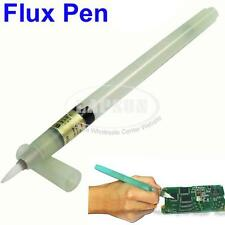 Flux Pen PCB Soldering Solder Tool Applicator Brush Head No Clean BON102 7ML AU
