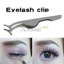 Beauty Tools Multifunctional False Eyelashes Stainless Auxiliary Tweezers Clip