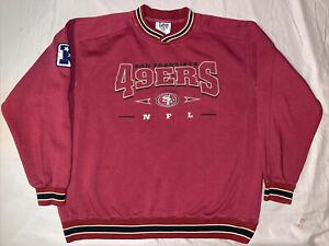 Vintage San Francisco 49er's Lee Crewneck Sweatshirt Men's NFL Sweater Size XL