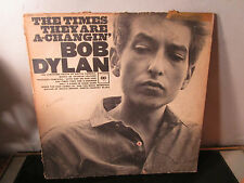 Bob Dylan The Times They Are A-Changin' vinyl LP album record