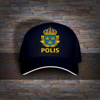Sweden Swedish Police Polisen Polis Embro Cap Hat