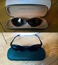 Lunettes de soleil + écrin Générale d'Optique vert foncé (Sun glasses + box dg)
