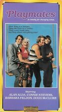 Playmates (VHS) Rare OOP Alan Alda Connie Stevens 1972 Comedy