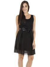 Skater Petite Sleeveless Viscose Dresses for Women