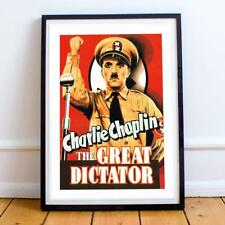 Film Classic Comedy Great Dictator 22X34 Inches Movie Poster P/P
