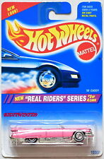 HOT WHEELS 1994 REAL RIDERS SERIES '59 CADDY PINK #3/4