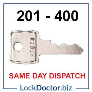 Replacement Filing Cabinet Keys 201-400 Triumph/Bisley/Vickers SAME DAY DISPATCH